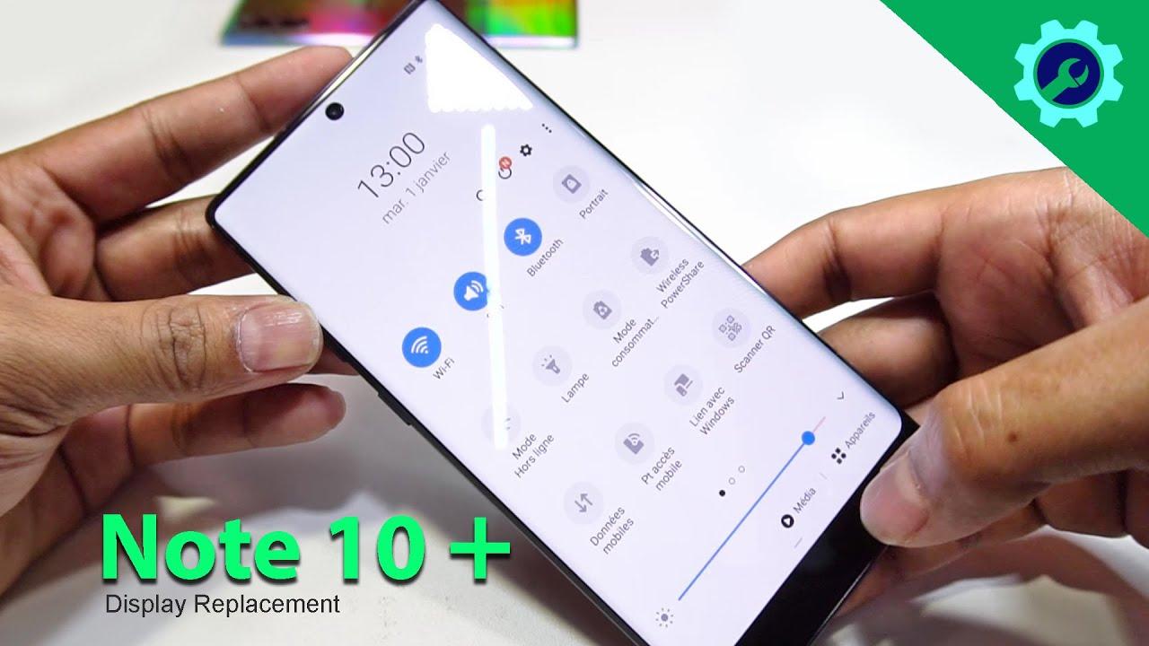 Thay màn hình Samsung Note 10 Plus chính hãng