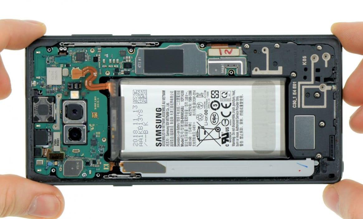 Thay pin Samsung Galaxy Note 9