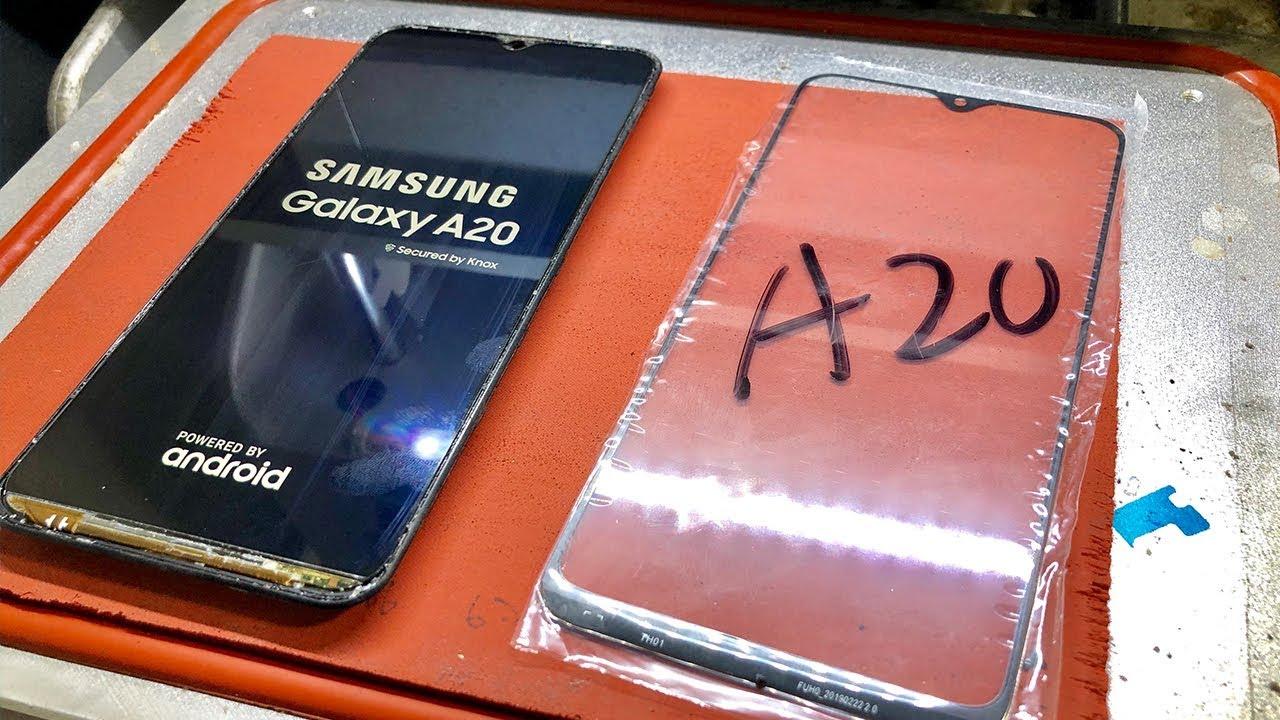 Thay màn hình Samsung A20 chính hãng