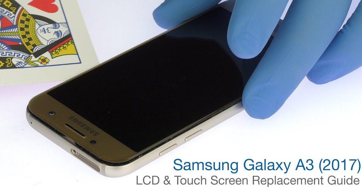 Thay màn hình Samsung A3 2017 chính hãng tại TP HCM