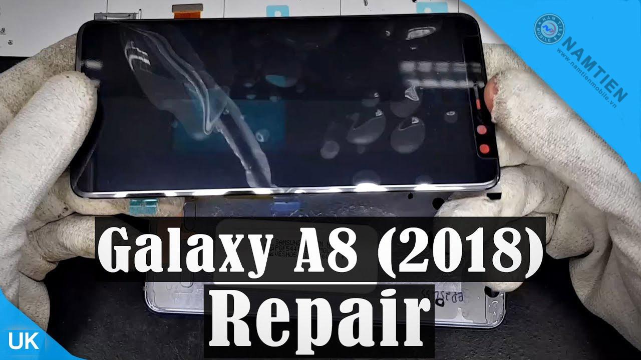 Thay mặt kính Samsung A8 2018 giá rẻ