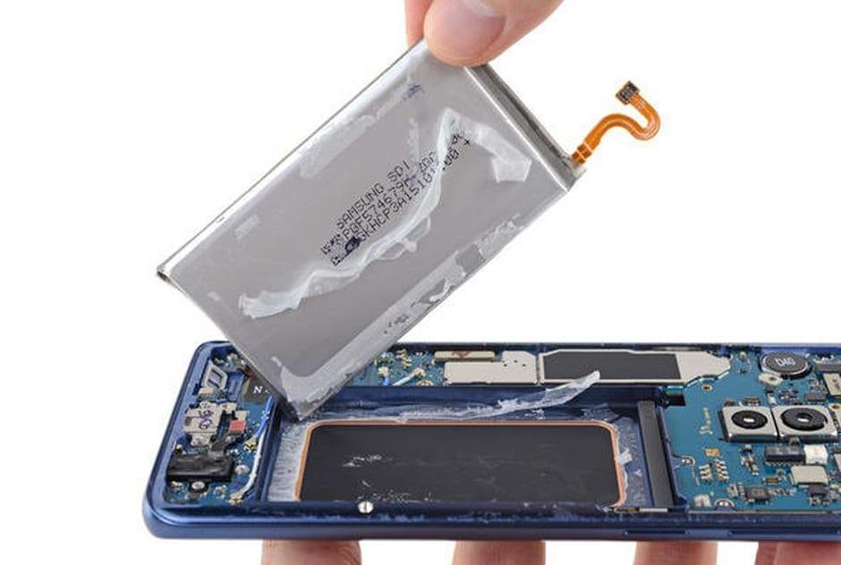 Thay pin Samsung Galaxy S9 tại Tp HCM