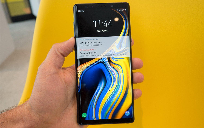 Điện thoại Samsung Note 9