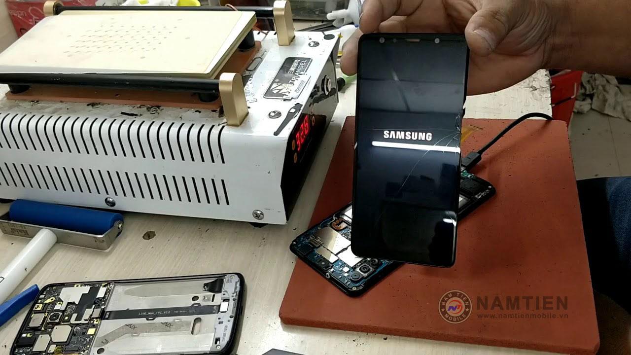 Thay mặt kính Samsung A7 giá rẻ