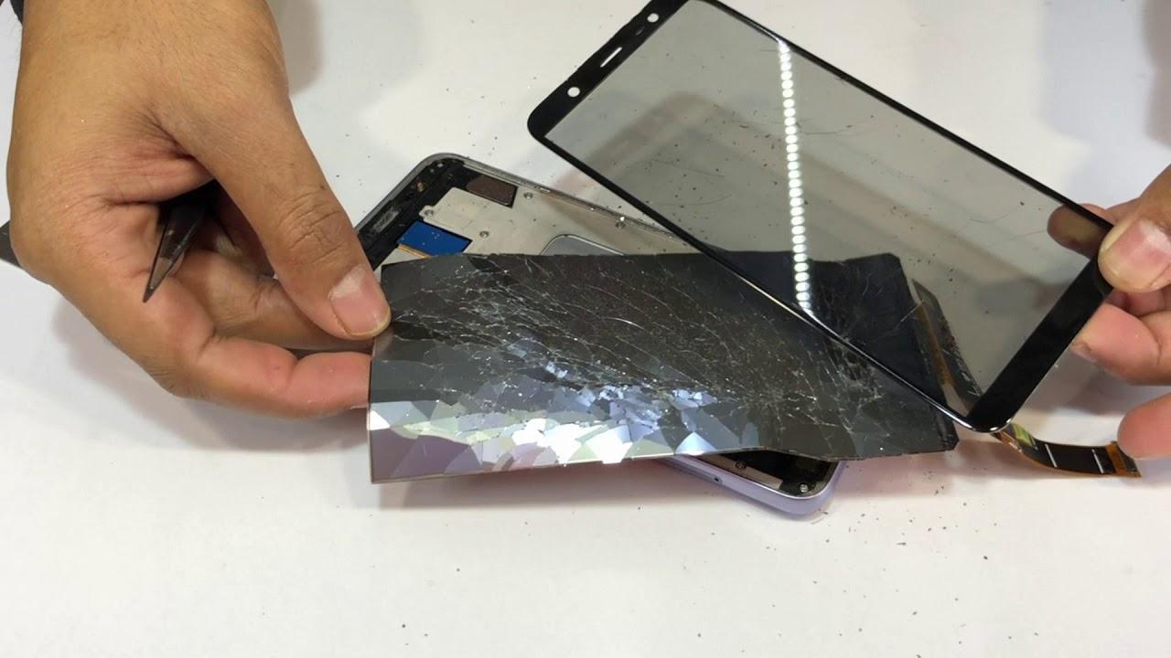 Thay mặt kính Samsung J8 giá rẻ