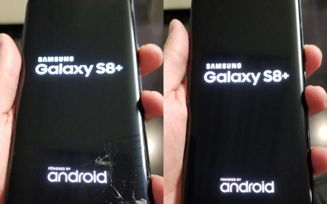 Thay mặt kính Samsung S8 chính hãng