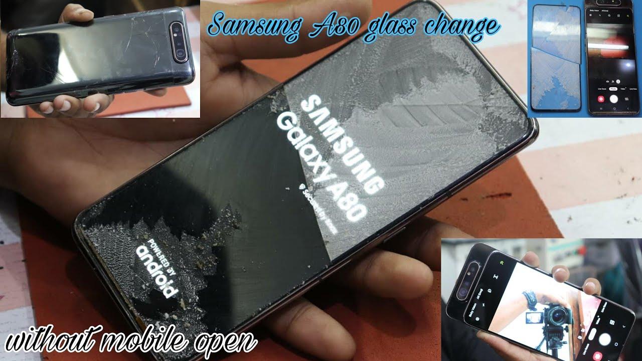 Màn hình Samsung A80 bị rơi vỡ cần thay mới