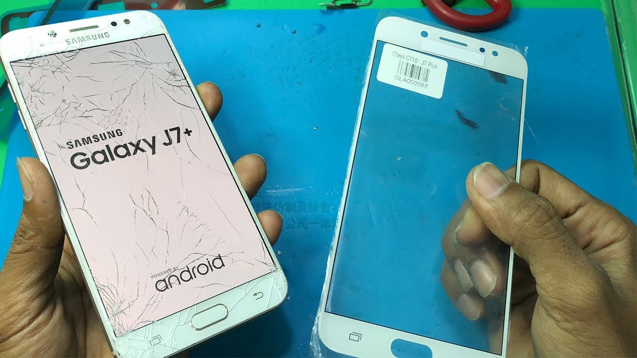 Thay màn hình Samsung J7 Plus chính hãng