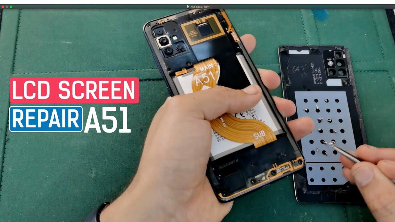 Thay màn hình Samsung A51 giá rẻ