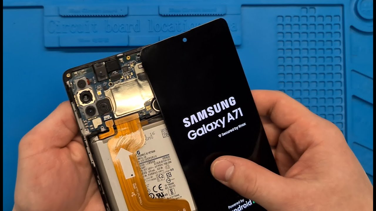 Thay màn hình Samsung A71 giá rẻ