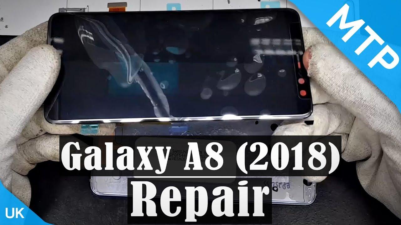 Thay màn hình Samsung A8 giá rẻ