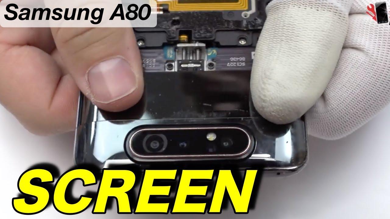 Thay màn hình A80 chính hãng
