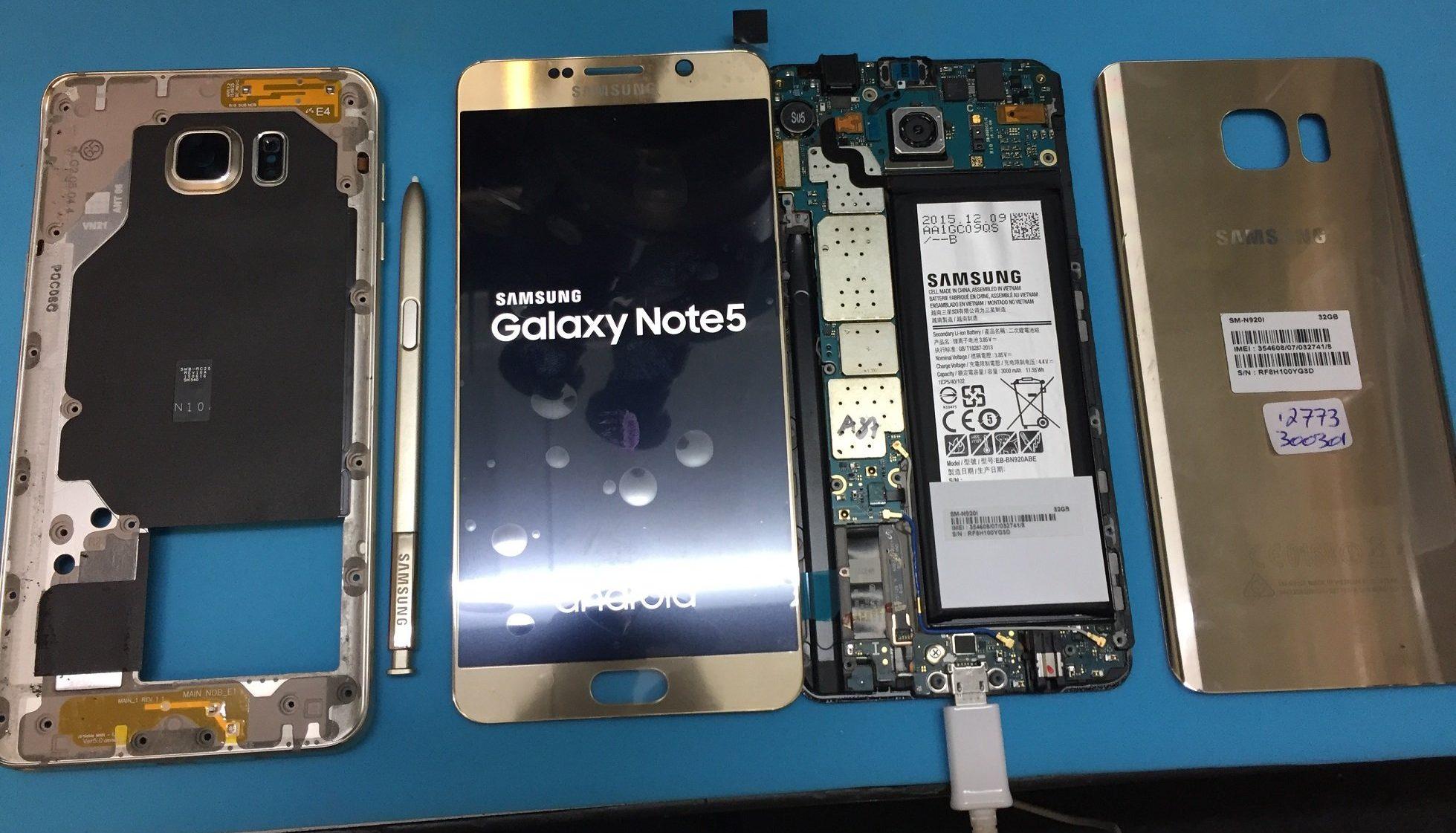 Thay màn hình Samsung Note 5 giá rẻ