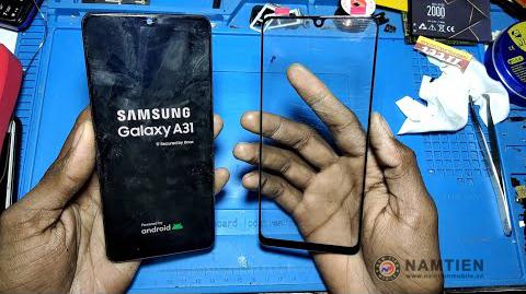 Thay mặt kính Samsung A31 giá rẻ