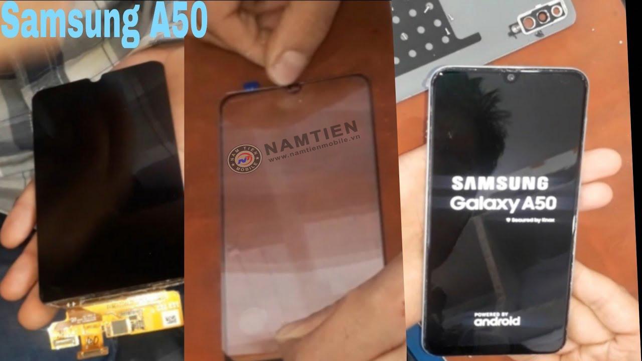 Thay mặt kính Samsung A50 chính hãng
