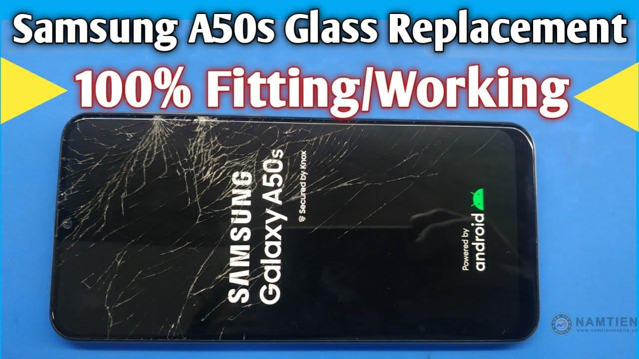 Thay mặt kính Samsung A50s giá rẻ