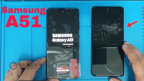 Thay mặt kính Samsung A51 giá rẻ