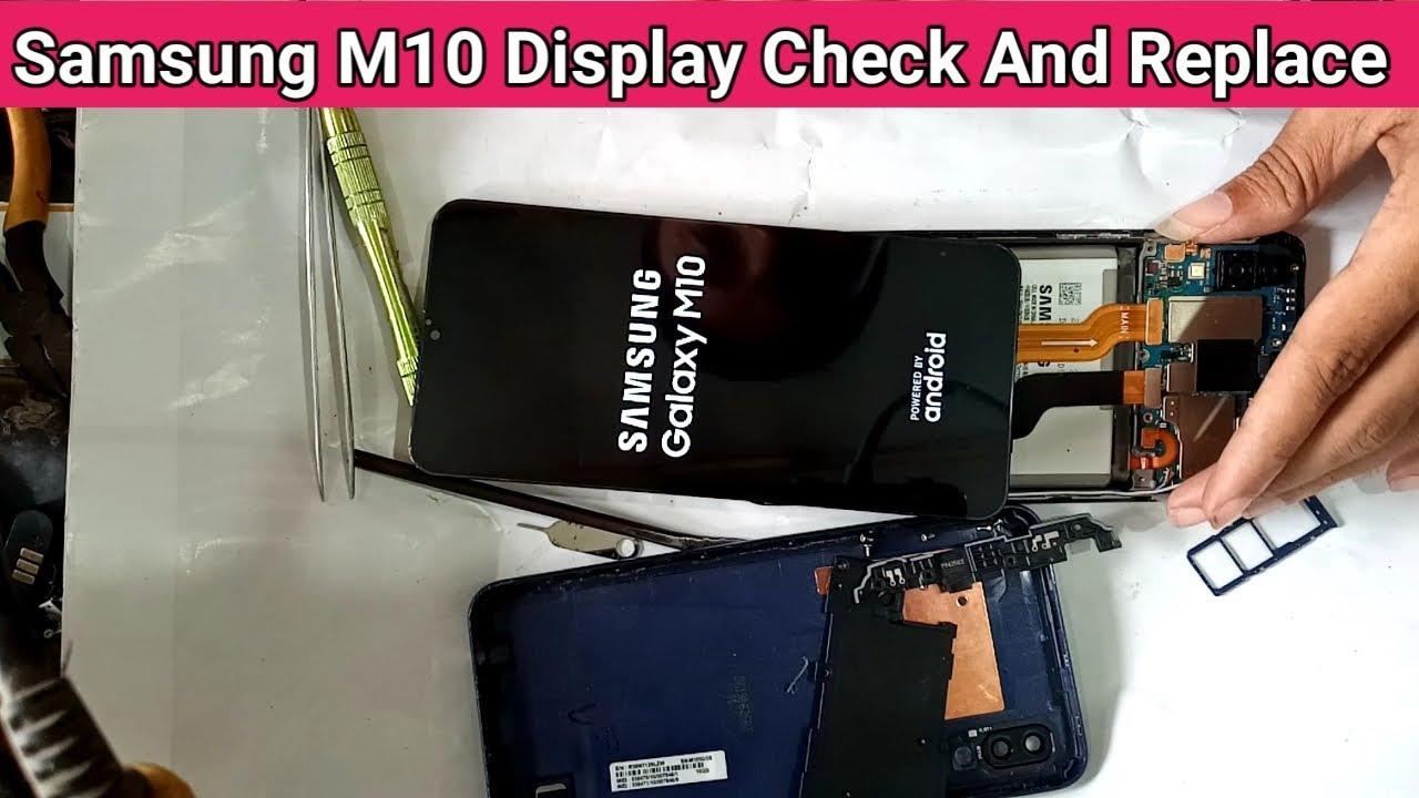 Ép Kính Samsung M10 chính hãng