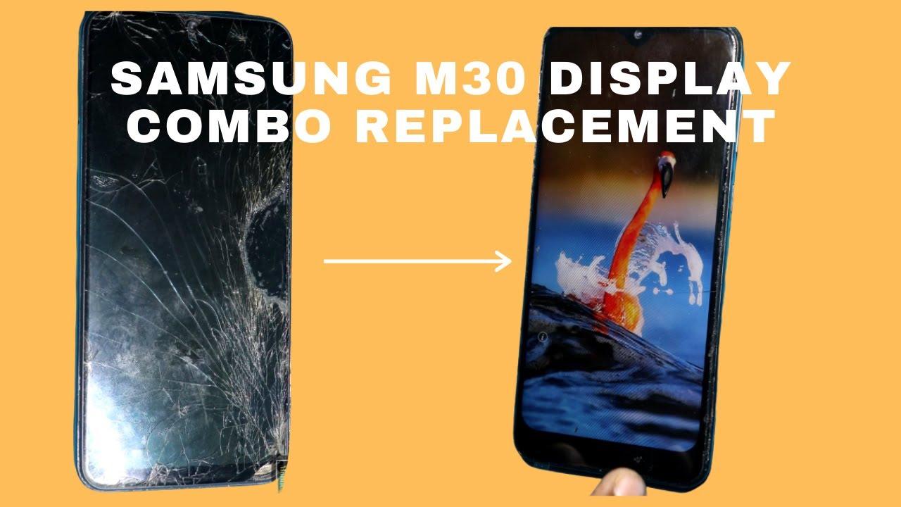 Thay mặt kính Samsung Galaxy M30 chính hãng
