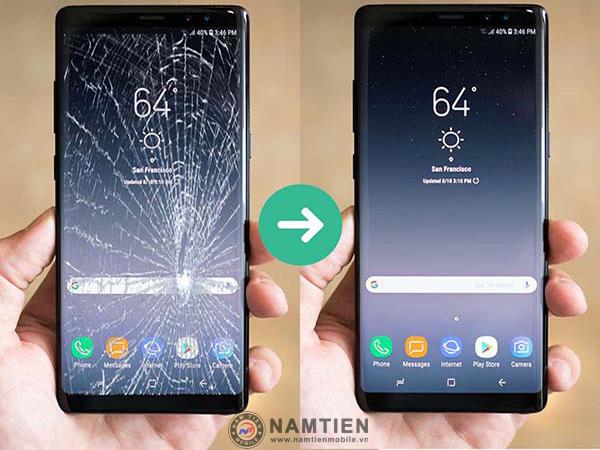 Thay mặt kính Samsung Note 8 giá rẻ