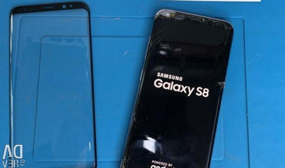 Ép kính Samsung S8 giá rẻ