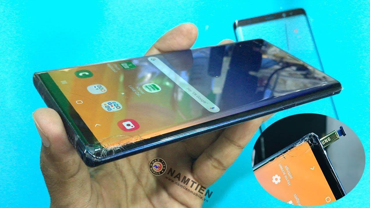 Thay mặt kính Samsung Note 9 chính hãng