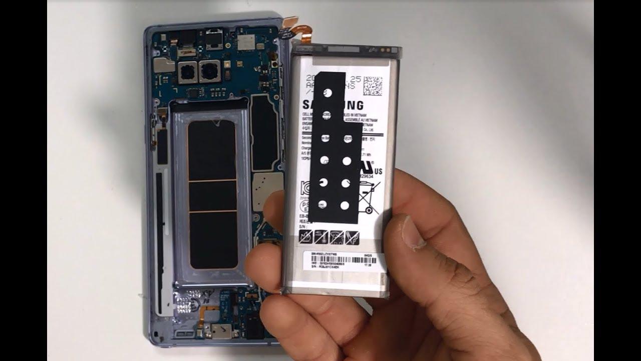 Thay pin Samsung Note 8 chính hãng