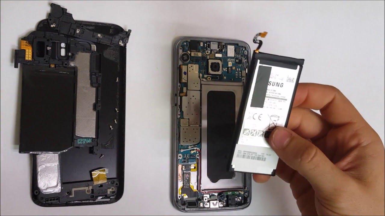 Thay pin Samsung Galaxy S7, S7 Edge chính hãng