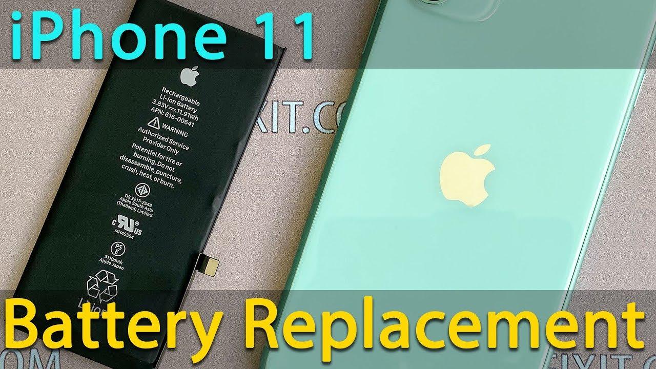 Thay pin iPhone 11 chính hãng