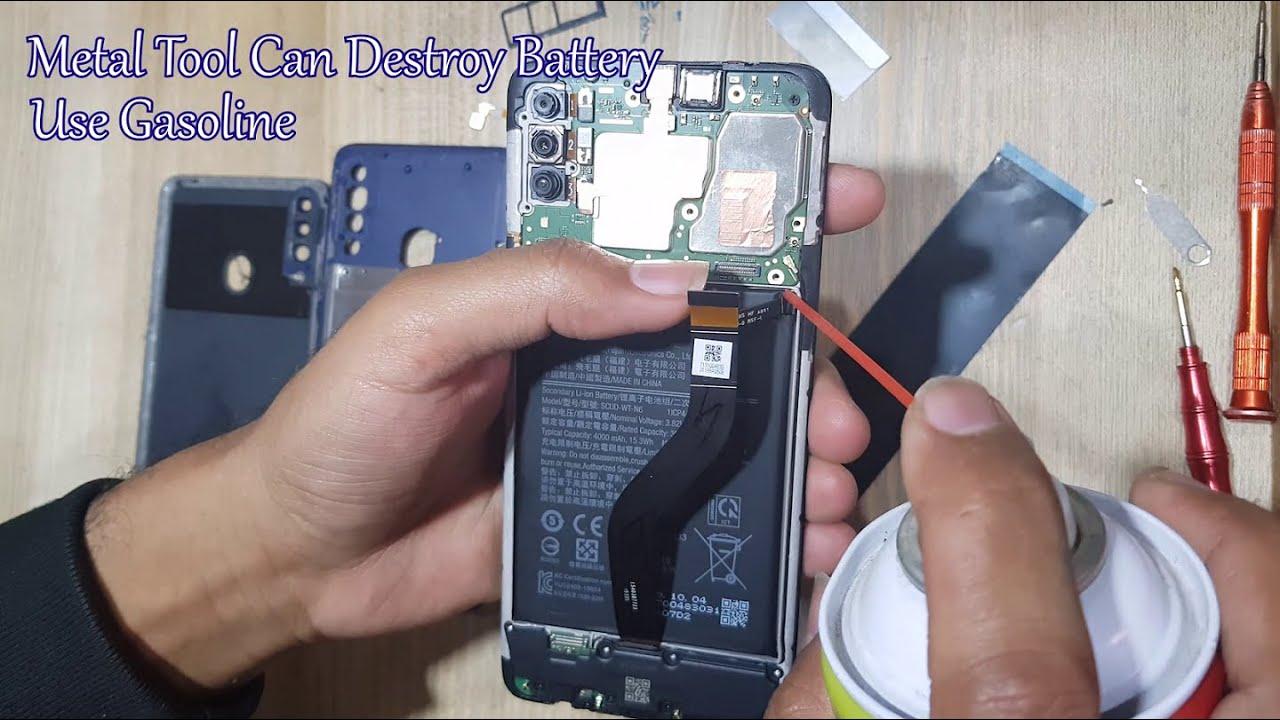 Thay pin Samsung A20 chính hãng uy tín tại Tp.HCM