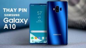 Dịch Vụ Thay Pin Samsung A10 Giá Rẻ Tại Gò Vấp